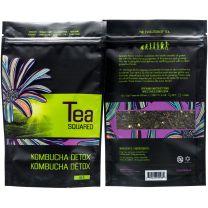 KOMBUCHA DETOX LOOSE LEAF TEA - TEA SQUARED 6-2.8z BAGS