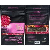 SKINNY WULONG LOOSE LEAF TEA - TEA SQUARED - 3-2.8z BAGS
