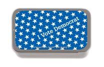 I Vote Democrat SUGAR FREE MINT TINS