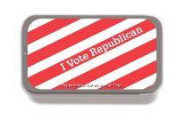 I Vote Republican SUGAR FREE MINT TINS