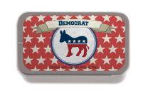 Democrat Stars SUGAR FREE MINT TINS