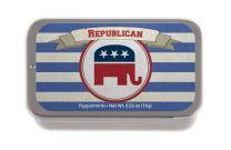 Republican Stripe SUGAR FREE MINT TINS