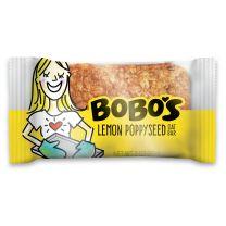 BOBO'S OAT BARS - LEMON POPPYSEED 12-3Z - FREE SHIPPING