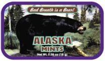 Alaska Black Bear_Black tin (24 tins)