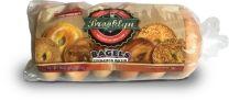 BAGELS 3oz. - CINNAMON RAISIN - 12-6CT BAGS - BROOKLYN FOOD GROUP