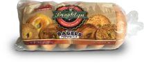 BAGELS 3oz. - PUMPERNICKLE - 12-6CT BAGS - BROOKLYN FOOD GROUP