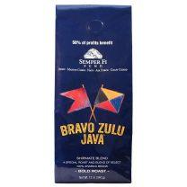 BRAVO ZULU JAVA GROUND COFFEE - 12-12Z BAGS