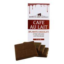 Chocolate Bar - Café au Lait White - BROOKLYN BORN CHOCOLATE