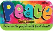 California Peace (24 tins)