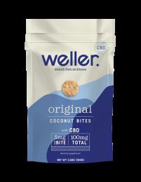 COCONUT BITES ORIGINAL - WELLERYOU - 6-3.5Z BAGS