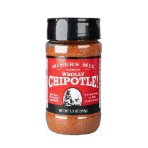 Wholly Chiptole Gourmet Rub - Miners Mix - 3-5.5z btls.