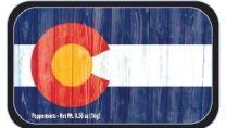 Colorado Vintage flag (24 tins)