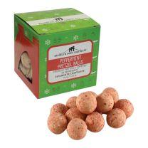 Cube - Peppermint Pretzel Bark Seasonal  - BROOKLYN BORN CHOCOLATE