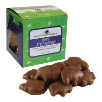 Cube  - Yummy Little Animals Milk Chocolate - BROOKLYN BORN CHOCOLATE