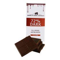 Chocolate Bar - Dark Chocolate 72% - BROOKLYN BORN CHOCOLATE