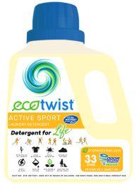 EcoTwist ACTIVE SPORT Laundry Detergent 4-50z btls.