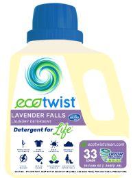 EcoTwist LAVENDER FALLS Laundry Detergent 2-50z blts.