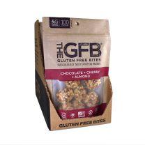 GLUTEN FREE BITES - CHOCOLATE CHERRY ALMOND BITES 12-4Z BAGS