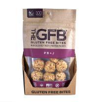 GLUTEN FREE BITES - PEANUT BUTTER & JELLY BITES 12-4Z BAGS