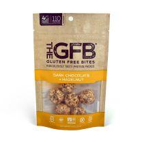 GLUTEN FREE BITES - DARK CHOCOLATE HAZELNUT BITES 12-4z BAGS