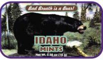Idaho Black Bear (24 tins)