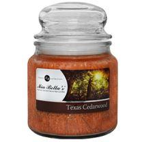 Mia Bella's Texas Cedarwood 16 oz. Candle - FREE SHIPPING