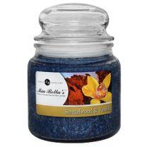 Mia Bella's Sandalwood and Vanilla 16 oz. Candle - FREE SHIPPING