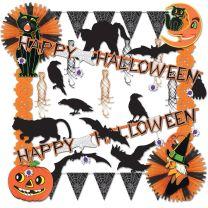 HALLOWEEN - Halloween Trimorama - FREE SHIPPING