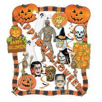 HALLOWEEN - Halloween Decorating Kit - FREE SHIPPING