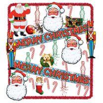 WINTER - CHRISTMAS - Christmas Trimorama - FREE SHIPPING