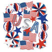 PATRIOTIC - Patriotic Decorating Kit - FREE SHIPPING