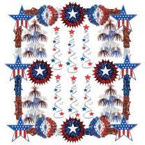 PATRIOTIC - Patriotic Reflections Decorating Kit - FREE SHIPPING