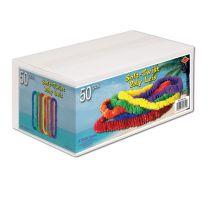LUAU - Soft-Twist Poly Leis w/Labeled Carton - FREE SHIPPING