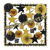 NEW YEARS - Glistening Gold NY Decorating Kit - FREE SHIPPING