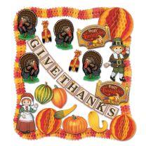 FALL-THANKSGIVING - Thanksgiving Decorating Kit - FREE SHIPPING