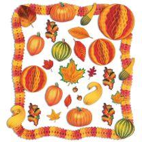 FALL - THANKSGIVING - Fall Decorating Kit - FREE SHIPPING