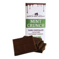 Chocolate Bar - Mint Crunch - BROOKLYN BORN CHOCOLATE