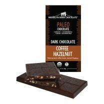 Paleo Chcolate Bar - Coffee Hazelnut  - BROOKLYN BORN CHOCOLATE