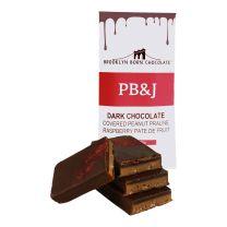 Chocolate Bar - PB&J Dark - BROOKLYN BORN CHOCOLATE