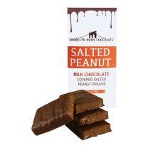Chocolate Bar - Salted Peanut Milk - BROOKLYN BORN CHOCOLATE