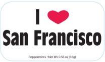 San Fran (I heart white) 24 tins