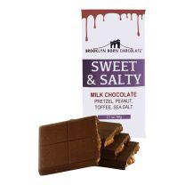 Chocolate Bar - Sweet & Salty Milk - BROOKLYN BORN CHOCOLATE