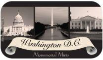 Washington DC Monumental Scroll (24 tins)