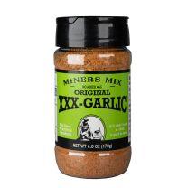 XXX-Galic Seasoning and Rub - Miners Mix - 3-6z btls.